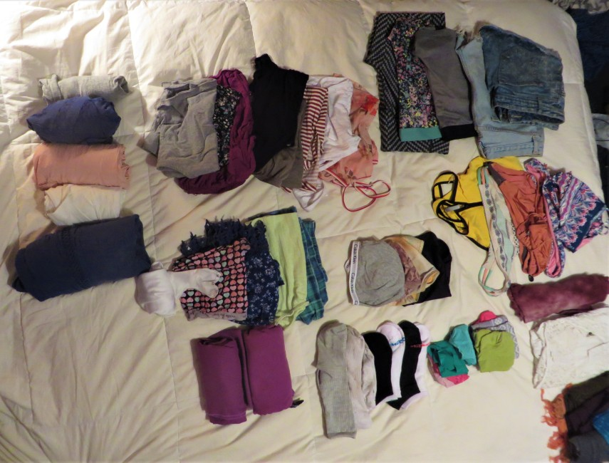 chels packing